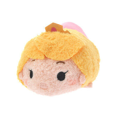 2016 Disney Japan, Sleeping Beauty TSUM TSUM, stuffed toys, Princess Aurora.