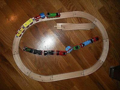 Childs 2 toy trains & TRACK