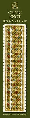 CELTIC KNOT  Cross Stitch Bookmark Kit from Textile Heritage