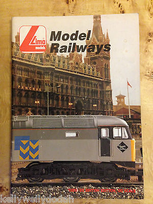 Lima Model Railways Catalogue 1989/90 British Edition OO Scale
