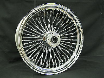 ROUE ARRIÈRE 48 RAYONS 16 X 5,5 CHROME, Harley Davidson Dyna, Softail, Touring