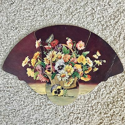 Vintage Advertising Hand Fan - Fred S. Marshall Dry Goods - Washington, PA