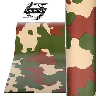 """Camouflage Camo Decals Stickers Wrap Vinyl  """"Forest Design"""" ALL SIZES - UV PRO"""