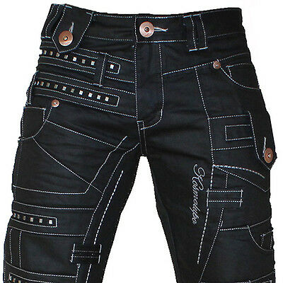 K&m Kosmo Lupo Creed Mens Jeans Denim All Sizes