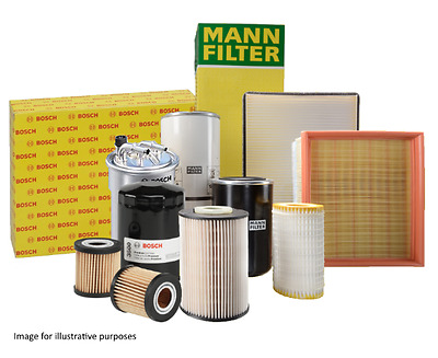 VW Golf Mk4 1.9 TDI (97-05) Oil, Air, Fuel and Cabin Bosch Filter Service Kit