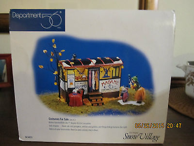Dept. 56, Snow Village, Costumes For Sale New in BOX