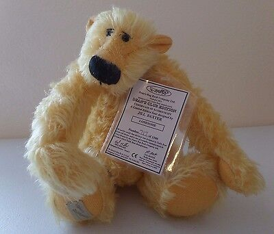 Jill Baxter Jointed LE Bear - Lonesome #717 / 1500 Deans Rag Book Great Britain