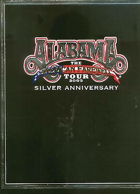 Alabama, The American Farewell Tour 2003, Silver Anniversary, Limited Edition