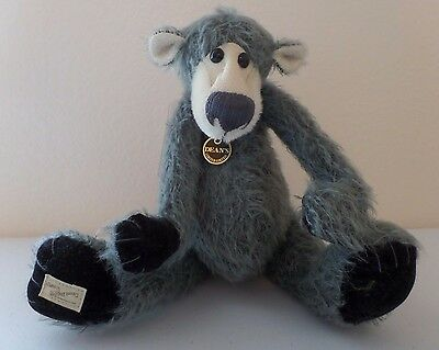 Jill Baxter LE Jointed Bear - Midnight #55 / 500 Deans Rag Book Co Great Britain