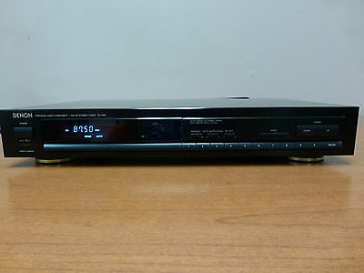 Denon TU-460 AM/FM Stereo Tuner - tested/works great