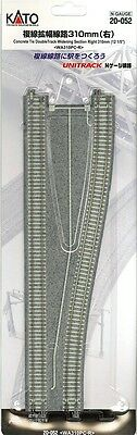 """Kato 20-052 N Unitrack 12 1/5"""" Dbl Track Widening Section Right"""