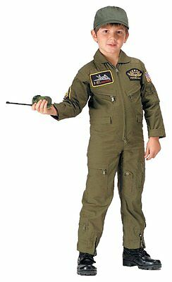ROTHCO KIDS AVIATOR FLIGHT COVERALL - OLIVE DRAB Size Youth XL New