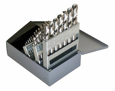 Chicago Latrobe 157 Series High-Speed Steel Short Length Drill Bit Set wit...NEW