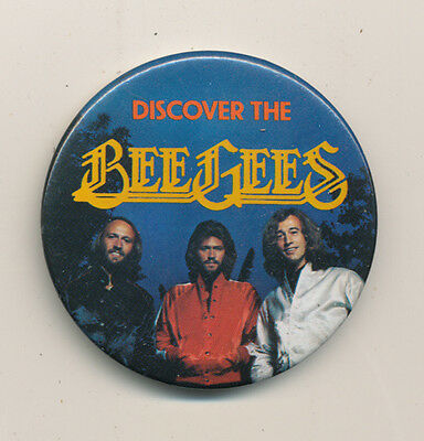 Bee Gees RARE vintage button