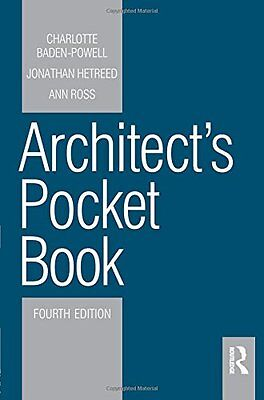 Architect's Pocket Book by Ann Ross, Charlotte Baden-Powell, Jonathan Hetreed...