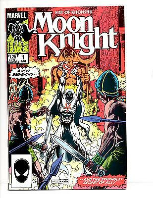 Moon Knight Fist Of Khonshu #1-6 (1985) Nm Great Bill Sienkiewicz Art