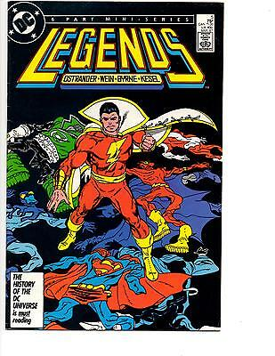Legends #5 (1986) Vf/nm Suicide Squad Darkseid Shazam Cover! Byrne Ostrander