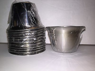 Sauce Cup Stainless Steel 3 Ounce 12 In Package Still Wrapped