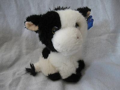 vintage plush cow by Applause 5""