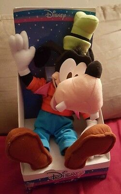"Disney 12"" Goofy Stuffed Plush Mickey Mouse Character Kids Toy NWT"