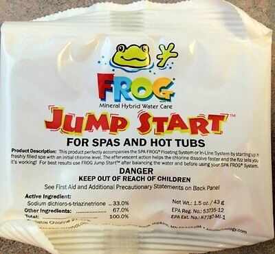 ***8 Pack*** Hot Tub Spa Frog Jump Start Chemical Mineral Pack 01-14-6012