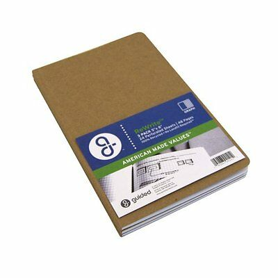 Guided Products ReWrite 5 x 8 Inches, Graph Recycled Notebook, 48 Pages, 3...NEW