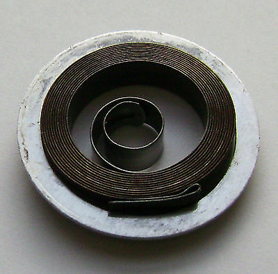 Clock Mainspring- Hole End -  4 Sizes Available- Made In France- Nos