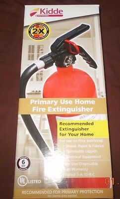 Kidde Fx210W Primary Use Home Fire Extinguisher 2X / Ul Rated 2-A:10-B:c