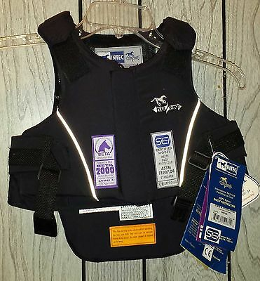 NEW INTEC Flexrider Equestrian Body Protector Childs Size 24