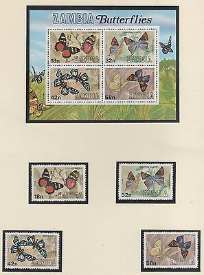 Zambia  Stamps New