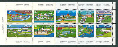 Lot 228: CANADA 1983 Forts Across Canada Booklet of 10 #992a MNH MINT Free Ship