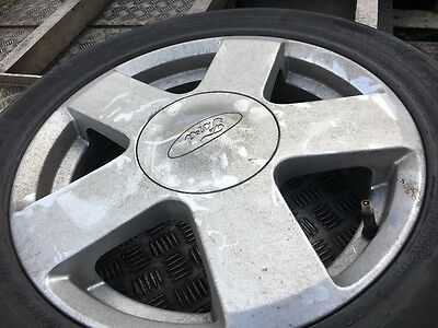 """4 X ford fiesta 15"""" alloys with tyres"""