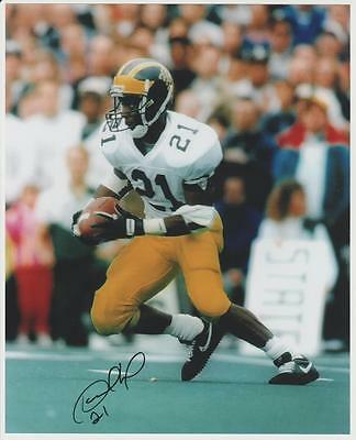 MICHIGAN DESMOND HOWARD SIGNED autographed football 8x10 Heisman ... f547b22cb