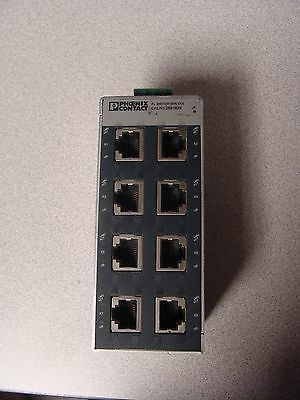 Phoenix Contact FL Switch SFN 8TX 2891929 8 Port Ethernet Switch