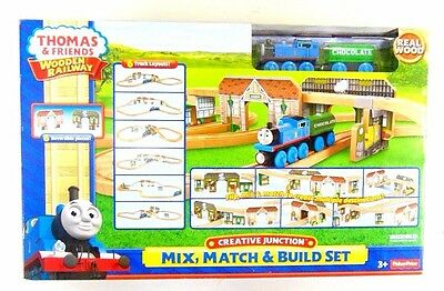 Fisher-Price Thomas Wooden Railway - Creative Junction Mix, Match and Build Set