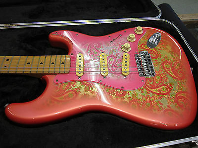 Fender Stratocaster Paisley Made In Japan With Hard Case 1984 - 1987
