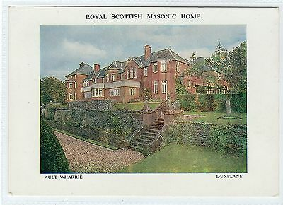 ROYAL SCOTTISH MASONIC HOME, AULT WHARRIE, DUNBLANE: Perthshire postcard(C24604)