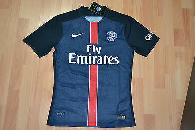 New Nike Paris Saint Germain Player Issue Football Shirt Maillot 2015-16 Size M