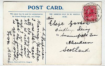 "T.S.S. ""HESPERIAN"": Shipping postcard with PAQUEBOT HALIFAX postmark (C24259)"