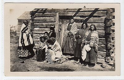 Picture postcard of Canadian Indians by J.E.Evans, Port Rowan, Ontario (C24263)