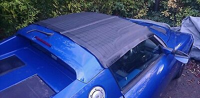 Vauxhall VX220 Opel Speedster soft-top roof water ingress weighted rain cover