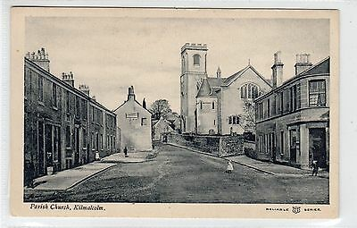 PARISH CHURCH, KILMALCOLM: Renfrewshire postcard (C23828)
