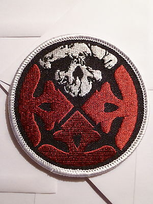 LIFE OF AGONY logo round patch-very limited edition!-new