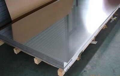 Stainless Steel Mirror Polished Sheet 304 Grade 2500x1200x0.7mm
