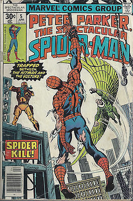 PETER PARKER, THE SPECTACULAR SPIDER-MAN #5  Apr 77