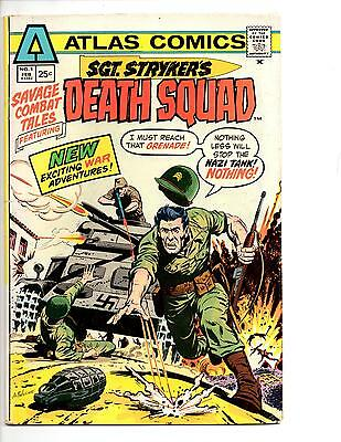 Sgt. Stryker's Death Squad #1 F/vf (1975) Atlas Archie Goodwin