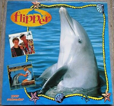 Flipper 1997 Calendar from 1995 TV Series