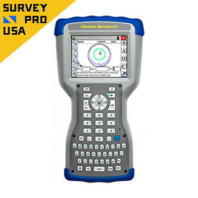 New - Carlson Surveyor2 Data Collector with SurvCE GPS Bluetooth