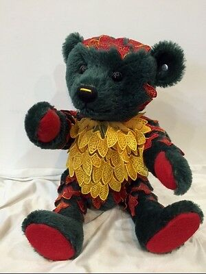 Rare PAPAGENO MUSICAL EMERALD Mohair Teddy Bear 2008 Steiff Club Valued to $925