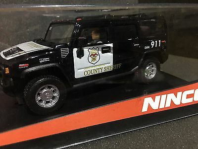 A/ 98                  Coche Se Slot Ninco Hummer Country Sheriff